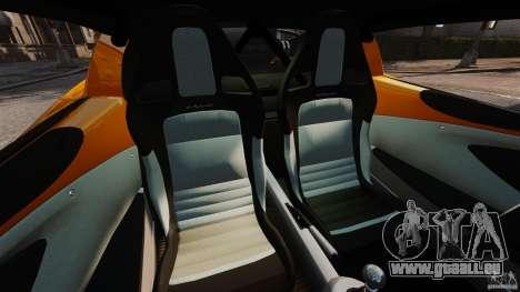 Lotus Exige 240 CUP 2006 für GTA 4 Innenansicht