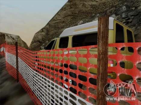 UAZ 2760 für GTA San Andreas Innenansicht