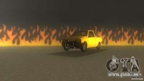 Serpuchowski Awtomobilny Sawod Pickup für GTA Vice City linke Ansicht