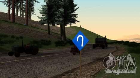 Nouvelle signalisation pour GTA San Andreas