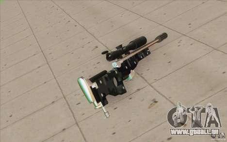 Low Chrome Weapon Pack pour GTA San Andreas cinquième écran