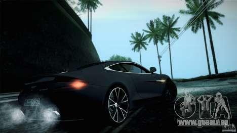 Aston Martin Vanquish V12 für GTA San Andreas rechten Ansicht