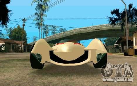 Mach 5 pour GTA San Andreas vue de droite