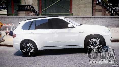 BMW X5M Chrome für GTA 4 Seitenansicht