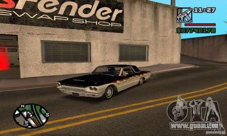 Ford Thunderbird 1964 für GTA San Andreas Seitenansicht