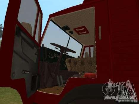 KAMAZ 5325 für GTA San Andreas rechten Ansicht