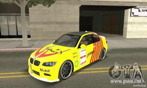 BMW M3 2008 Hamann v1.2 pour GTA San Andreas salon