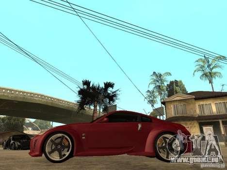 Nissan 350Z Tokyo Drift pour GTA San Andreas laissé vue
