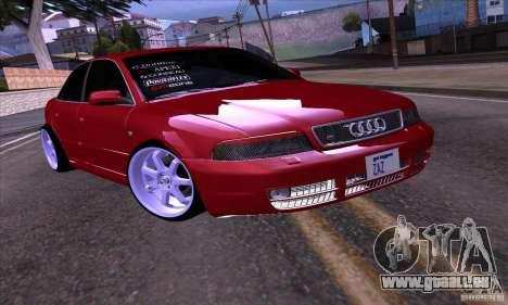 Audi S4 Light Tuning pour GTA San Andreas laissé vue