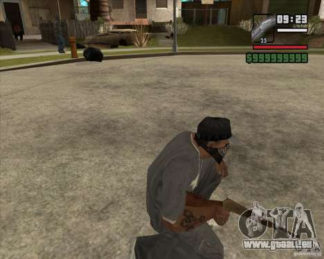 Carabine de chasse pour GTA San Andreas troisième écran