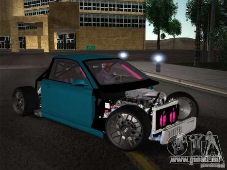 BMW E46 Drift II pour GTA San Andreas vue de dessous