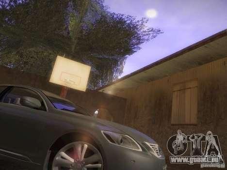Lexus GS450H pour GTA San Andreas laissé vue
