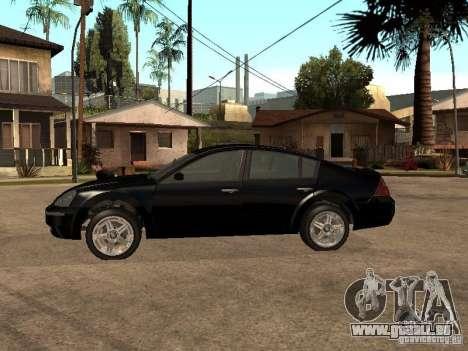 Nissan Teana für GTA San Andreas linke Ansicht