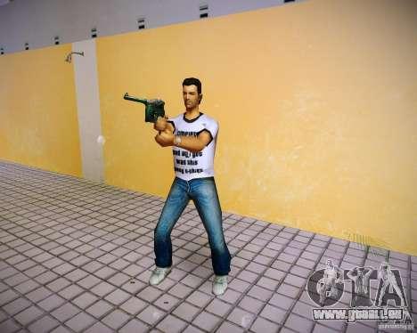 Mauser C96 pour GTA Vice City cinquième écran