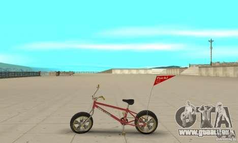 BMX Long 2 New Wheel pour GTA San Andreas laissé vue