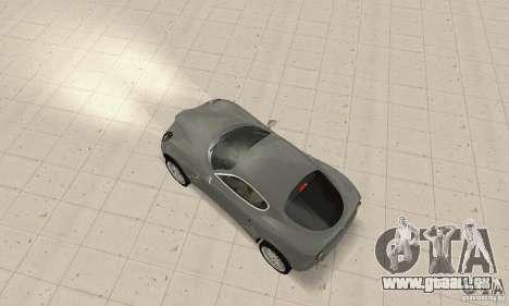 Alfa Romeo 8 C Competizione Lager für GTA San Andreas obere Ansicht