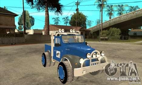 Aro M461 - Offroad Tuning für GTA San Andreas Rückansicht