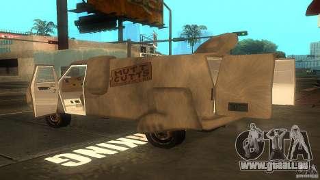 Dumb and Dumber Van pour GTA San Andreas laissé vue