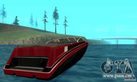GTAIV TBOGT Floater pour GTA San Andreas sur la vue arrière gauche