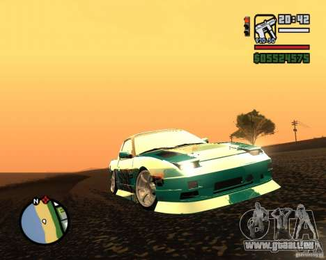 Nissan RPS13 Pick-Up Moscow Drift pour GTA San Andreas