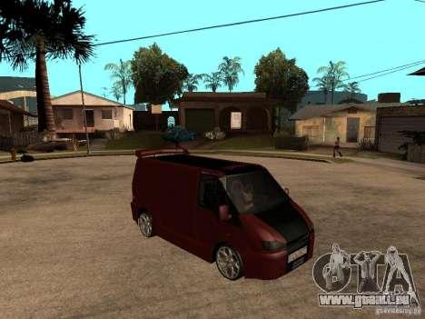 Ford Transit Tuning für GTA San Andreas rechten Ansicht