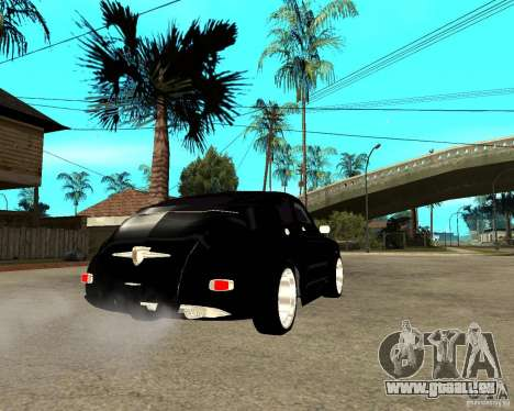GAZ M20 (gagner) + tuning pour GTA San Andreas sur la vue arrière gauche