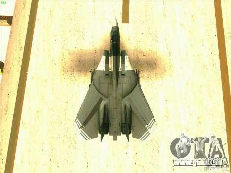 F-14 Tomcat Schnee für GTA San Andreas Motor