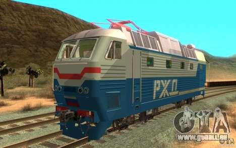 Lokomotiv-Tschs7-082 für GTA San Andreas