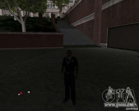 Le travail de la police ! pour GTA San Andreas deuxième écran