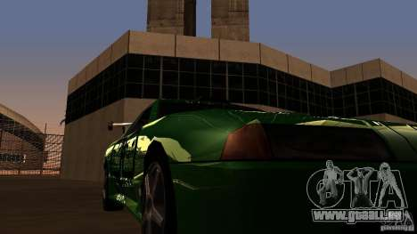 Elegy v0.2 pour GTA San Andreas vue intérieure