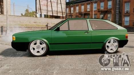 Volkswagen Gol GL 1992 Edit pour GTA 4 est une gauche