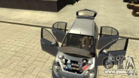 Nissan Micra pour GTA 4 est une vue de dessous
