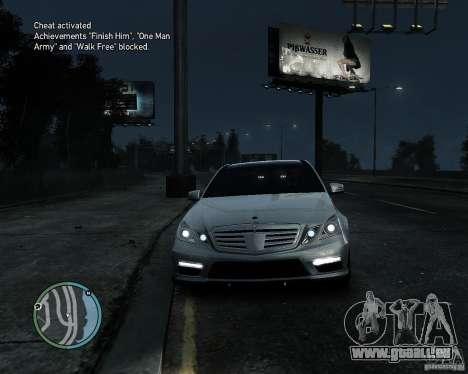 Mercedes Benz B63 S Brabus v1.0 pour GTA 4 est une gauche
