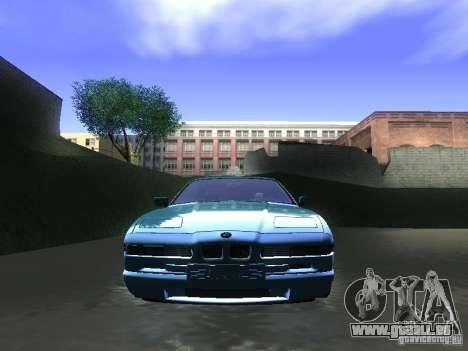 BMW 850CSi 1995 pour GTA San Andreas vue de droite