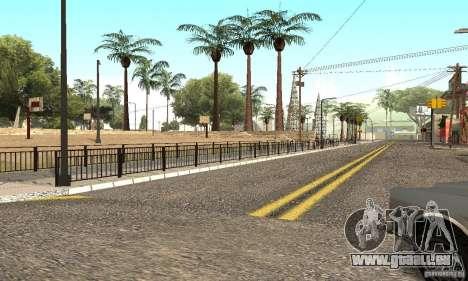 Grove Street 2012 V1.0 pour GTA San Andreas cinquième écran