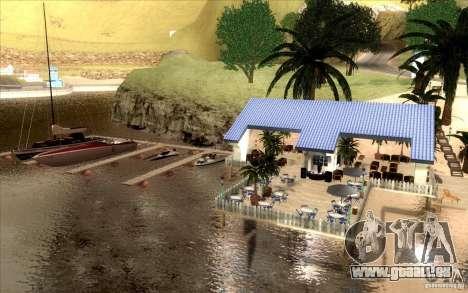 Beach Club pour GTA San Andreas troisième écran