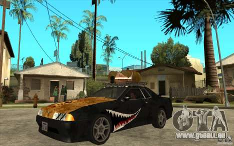 Elegy Rost Style pour GTA San Andreas