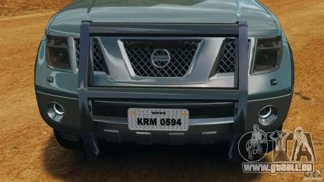 Nissan Frontier DUB v2.0 für GTA 4 Unteransicht