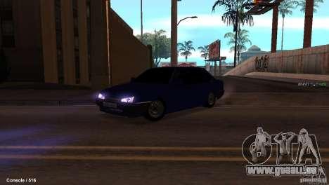 BAZ 21099 pour GTA San Andreas vue de côté