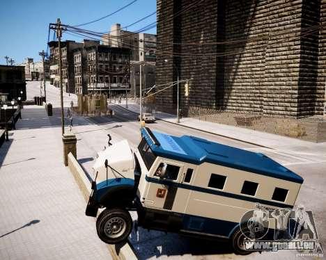 Russian Police Stockade für GTA 4 rechte Ansicht