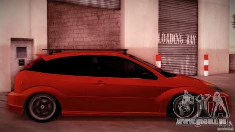 Ford Focus SVT Clean pour GTA San Andreas vue arrière