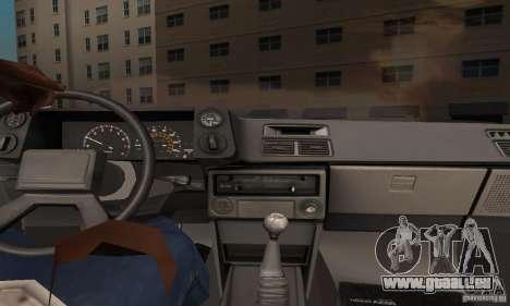 Toyota Corolla AE86 pour GTA San Andreas vue intérieure