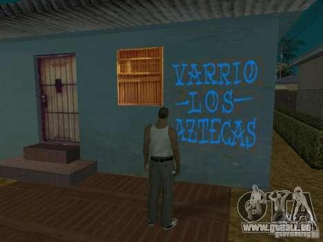Varrio Los Aztecas pour GTA San Andreas neuvième écran