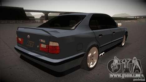 BMW M5 E34 1990 für GTA San Andreas rechten Ansicht