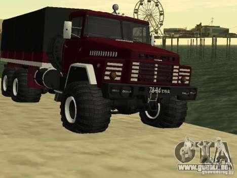KrAZ 260 pour GTA San Andreas
