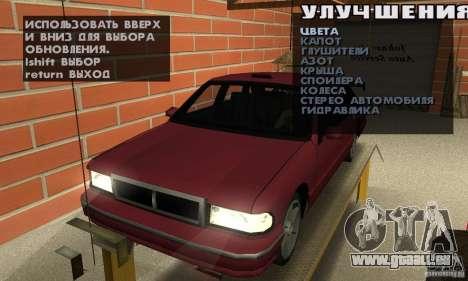 Johnsons Business (Johnsons Auto Service) pour GTA San Andreas deuxième écran