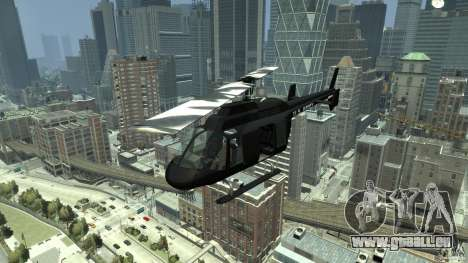 Black U.S. ARMY Helicopter v0.2 pour GTA 4