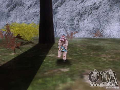 Piggsy on Mount Chilliad für GTA San Andreas her Screenshot