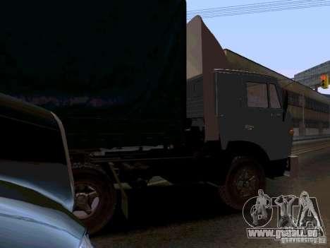 KAMAZ 55111 pour GTA San Andreas vue de droite