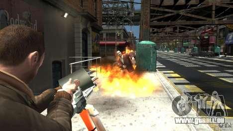 Lance-flammes pour GTA 4 quatrième écran